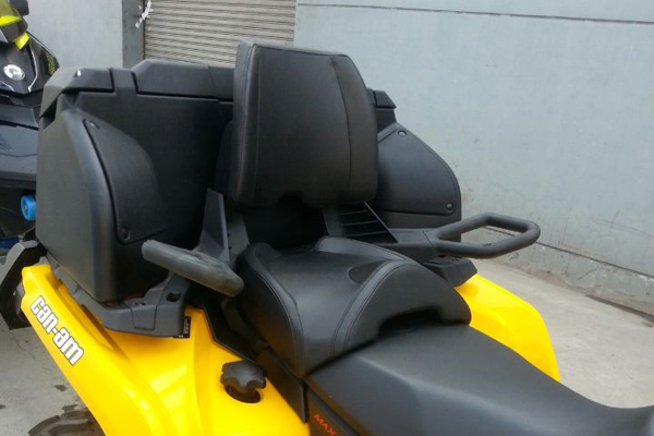 ATV REAR BOX 8050-A